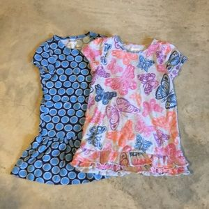 2 Girls tunic shirts. OSH KOSH